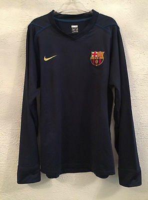 Barcelona player issue training sweater - medium