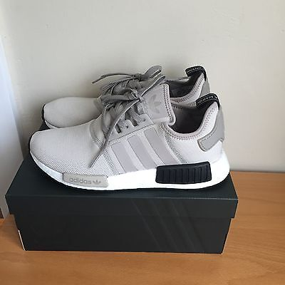 Adidas Nmd R1 Ash White Sneakers Footlocker Exclusive Size Us9