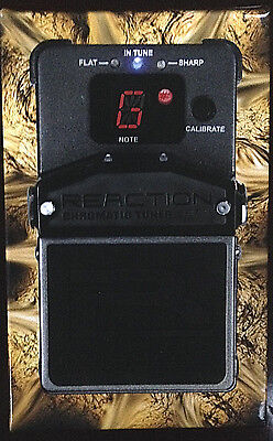 Rocktron Reaction Chromatic Pedal Tuner for Guitar, Bass  New lowered price!
