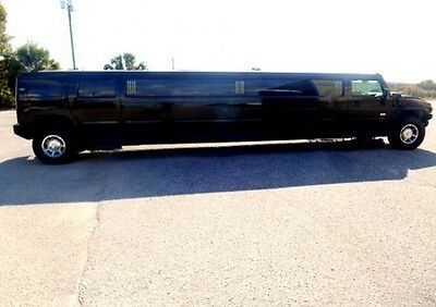 "2005 Hummer H2  2005 Hunmer H2 200"" Stretch SUV Limousine / Limo Bus by Krystal"