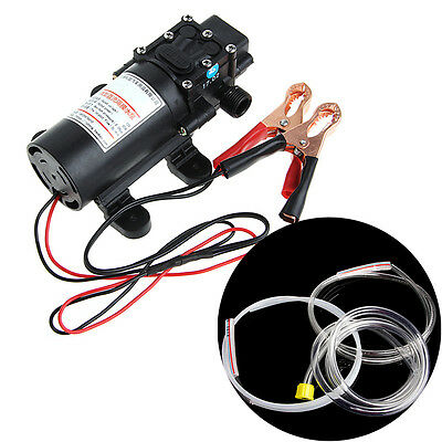 DC12V 5L Transfer Pump Extractor Oil Fluid Scavenge Vacuum Suction For Car Boat