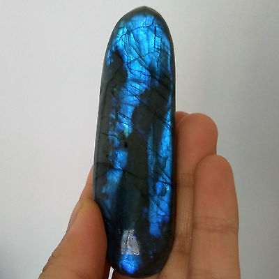 100g Natural Labradorite Crystal Rough Polished Madagascar A1413