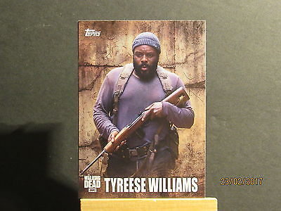 2016 The Walking Dead Season 5 Characters #C9 Tyreese Williams