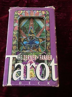 The Zerner Farber Tarot Deck - rare, out of print
