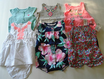 New 10 Pc. Lot Of Baby Girl Clothes 0-3 Months Nwt $126