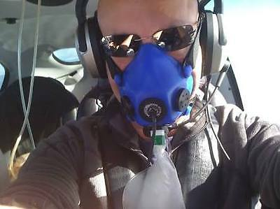 Aviation Oxygen Mask with Microphone (Precise Flight / Cirrus)