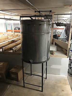mixing Kettle- Stainless Steel - 100 Gallon