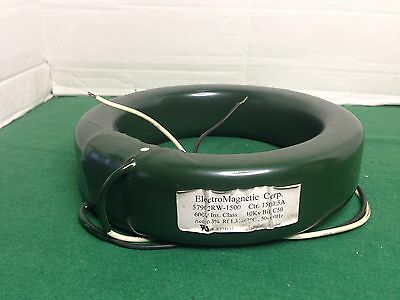ELECTROMAGNETIC CURRENT TRANSFORMER 1500:5A RATIO  57902RW-1500 Free Shipping