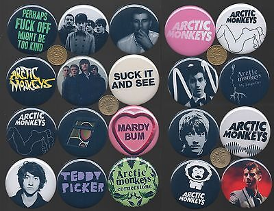 Arctic Monkeys Alex Turner 56mm Pin Button Badges 20 Designs