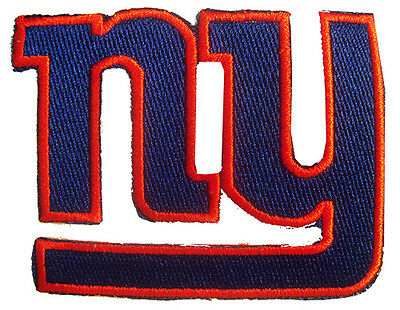 New NFL New York Giants Logo embroidered iron on patch. 3 x 2.25 inch (i176)