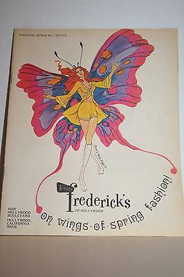 1972 Fredrick's Of Hollywood Catalog On Wings of Spring Fashion Vol 26 Issue 129