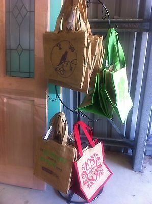 Wholesale Bulk Lot Of 11 Eco Star / Hippy Jute Bags