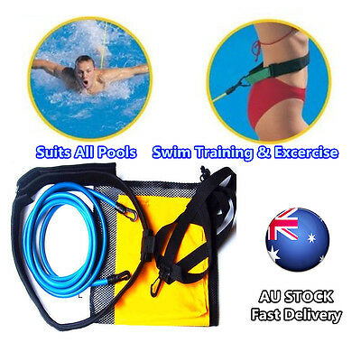Swimsportz Swimming Pool Resistance swim trainer Hydrotherapy Waist Belt Aid