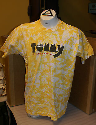 Vintage 1993 The Who's Tommy Musical Tye Dye T-Shirt XL