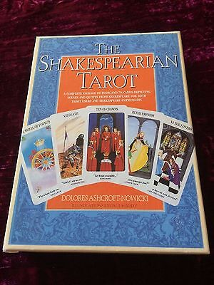 The Shakespearian Tarot (Dolores Ashcroft-Nowcki & Paul Hardy) - out of print