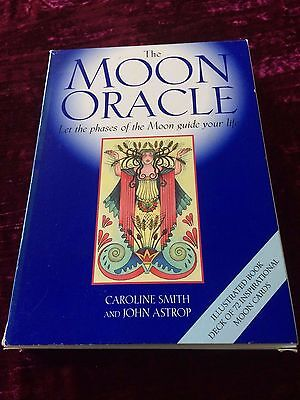 The Moon Oracle (by Caroline Smith & John Astrop) - unused, rare, out of print
