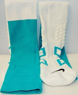 NIKE MIAMI DOLPHINS NFL TEAM ISSUED - GAME USED SOCKS  Size Large
