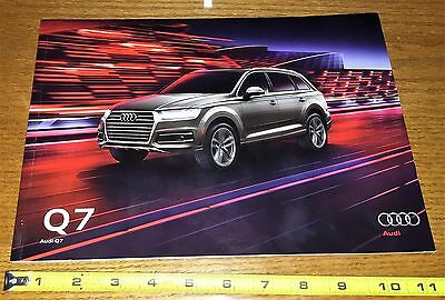2017  AUDI  Q7  28 page Brochure  FREE SHIPPING!