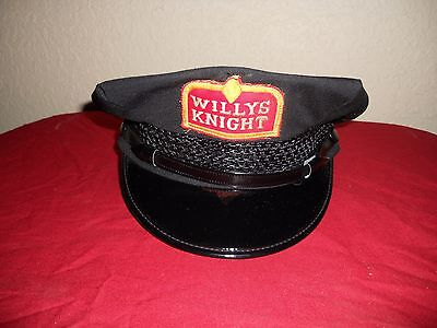 Ultra Rare Willys Knight Service Attendant Uniform Hat Cap Awesome