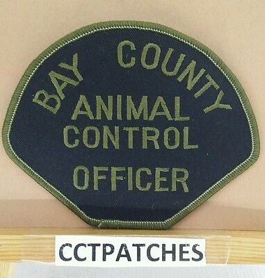 Bay County, Michigan Animal Control Sheriff (Police) Subdued Shoulder Patch Mi