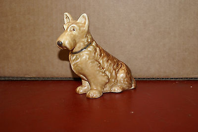SylvaC 1205 Seated Beige Mac Scottie Dog Figurine 4 3/4in