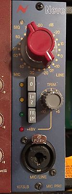 Neve 1073LB 500 Series Microphone Preamp