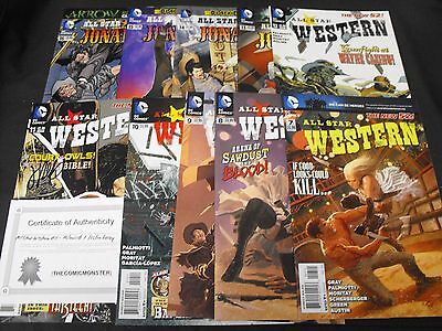 Jonah Hex All Star Western 7-16 Dc Comic Run 7 8 9 10 11 Signed 12 13 14 15 16