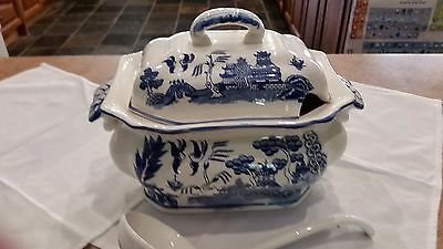 Soup Tureen with Spoon