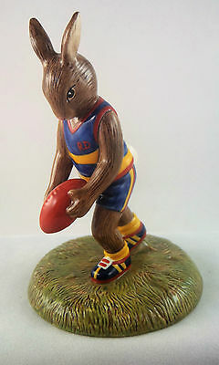 Royal Doulton Aussie Rules (AFL) Bunnykins DB508 limited edition new in box