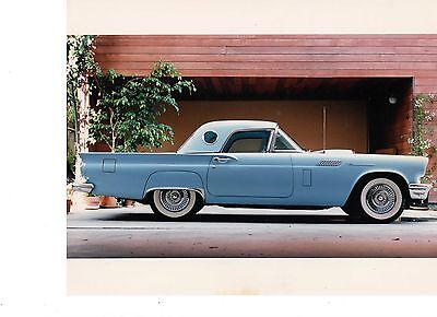 1957 Ford Thunderbird  1957 Ford Thunderbird Convertible - Low Mileage- Mint Condition