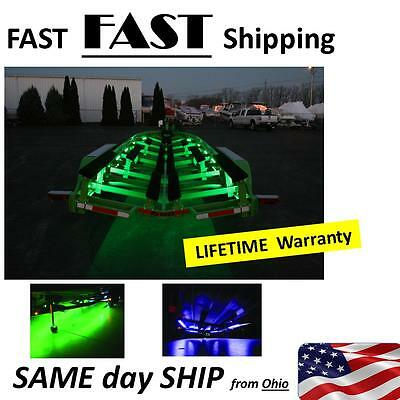 boat trailer part - LED light kit --- 2 x 8' lights --- Lifetime Warranty