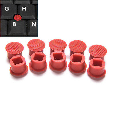 10X Rubber Mouse Pointer TrackPoint Red Cap for IBM Thinkpad Laptop Nipple ATAU