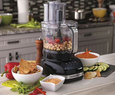 Hamilton Beach 12-Cup Food Processor, with Additional 4-Cup Bowl.