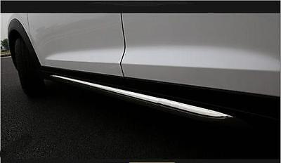 For Hyundai TUCSON 2016 2017 all new side skirt nerf bar step trim protector