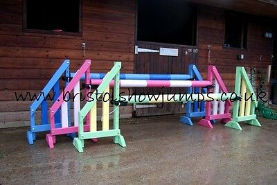 Quality horse show jumps,set of 3 teeny tots by bristolshowjumps KEYHOLE TRACKS