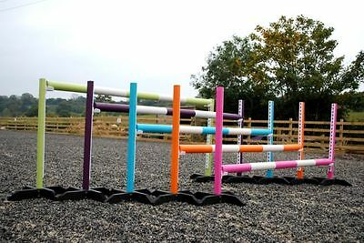 5 Pairs of training stands, poles, cups by BristolShowJumps KEYHOLE TRACKS (36)