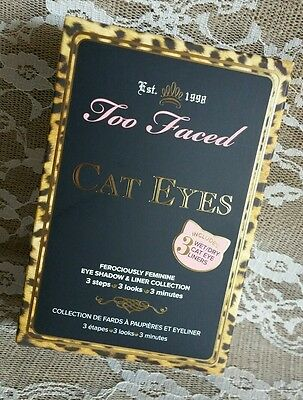 Too Faced Cat Eyes Ferociously Feminine Eye Shadow Palette ~ Authentic~BNIB~Read