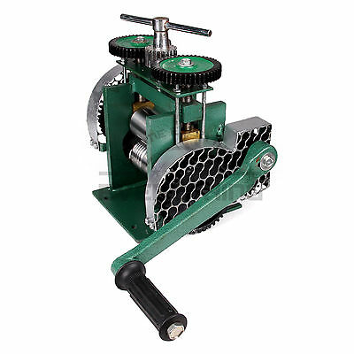 Rolling Mill Machine Manual Combination 80mm Jewelry Press Tabletting Tool