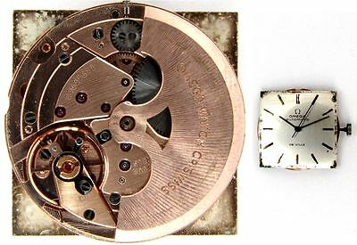 OMEGA 711 original automatic watch movement working (4900)