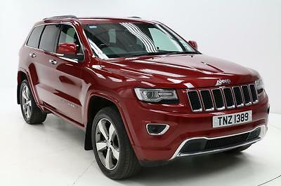 2013 Jeep Grand Cherokee 3.0 CRD Overland 5dr Auto Diesel red Automatic
