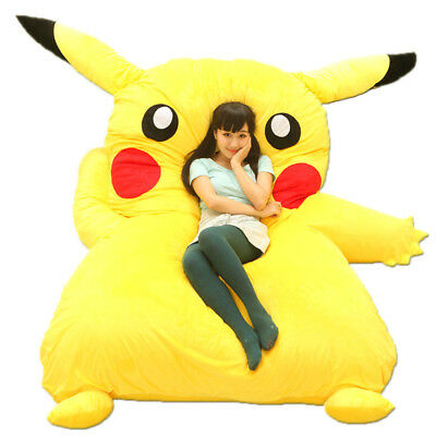 Marvelous Giant Minion Sofa Bed Tatami Beanbag Mattress Soft Anime Fun Caraccident5 Cool Chair Designs And Ideas Caraccident5Info