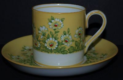 Crown Staffordshire Coffee Can Cup & Saucer Pattern No 13818