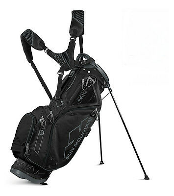 Sun Mountain 2017 Four 5 LS Carry/Stand Bag - BLACK - *NEW*