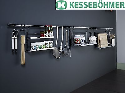 Kesseböhmer LINERO Railing Rail system Kitchen bar Railing bar Kitchen rail