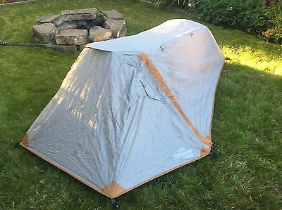 Kathmandu Mono Waterproof Insectproof Tunnel 1 Person Camping Tent v2 White