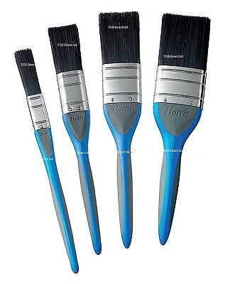 "Harris No Bristle Loss Evolution Paint Brush 0.5"" 1"" 1.5"" 2"" + Packs Available"
