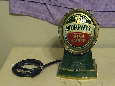 Murphys  Irish Amber Beer Engine Faucet,,,,MINT