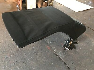 BMW 3 SERIES E46 02-06 CONVERTIBLE ELECTRIC SOFT ROOF In BLACK