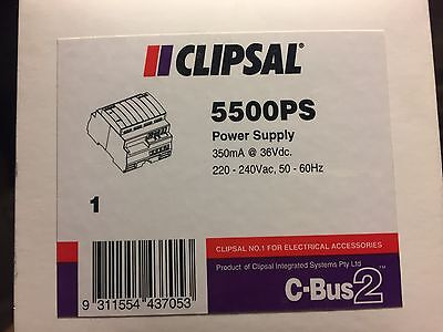 Clipsal 5500PS Power Supply C-BUS , CBUS ,  New in Box