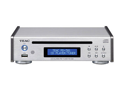 Teac PD-301 DAB+ - CD-Player/DAB+/UKW-Tuner silver (UVP: 449,00 €)